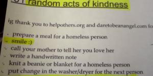 25days of kindness