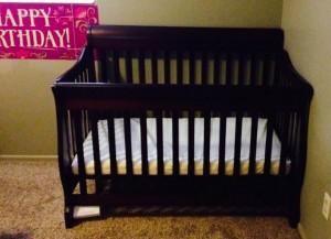 Her Birthday Bed!