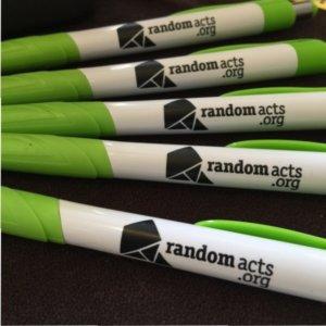 Random Acts pens