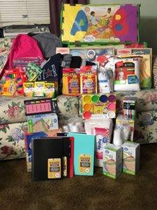 school supplies for refugee children