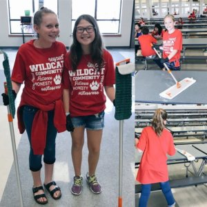 CharacterStrong Cafeteria Clean Up