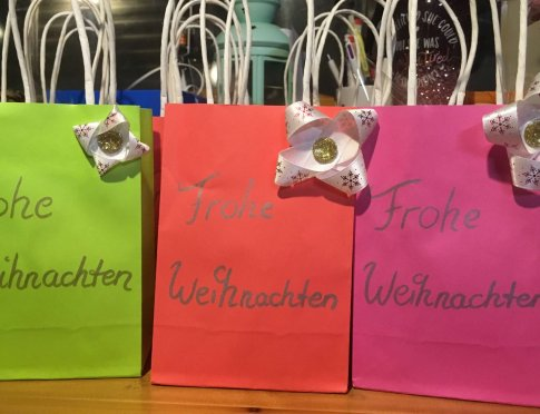 holiday kindness gift bags