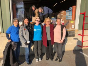 From left to right: Kathy Webb (AHRA Executive Director), Temeka Williams (AHRA Operations Director), Holli DeWees (Random Acts Regional Rep), Rhonda Sanders (Arkansas Foodbank CEO), Michelle Shope (AHRA Food Sourcing & Logistics Director)