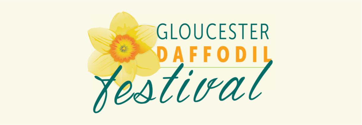 logo for the Gloucester Daffodil Festival