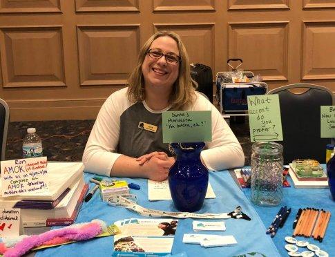 Jean Hayes, AMOK Program Coordinator