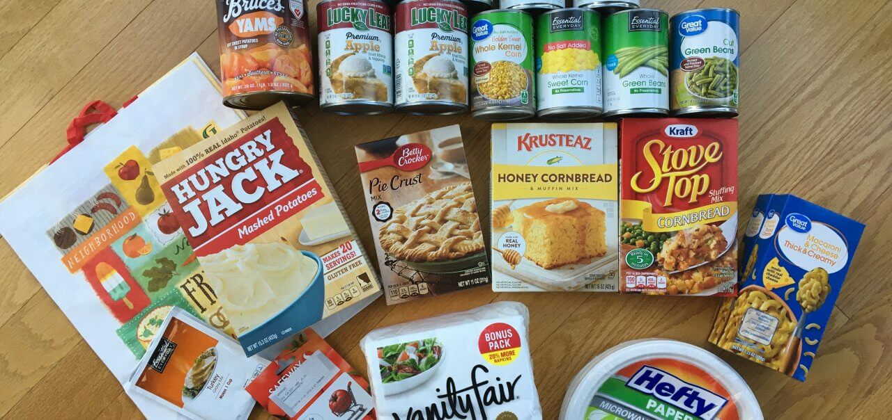 Thanksgiving meals for hungry families
