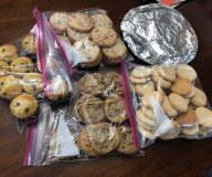 baked goodies for AMOK