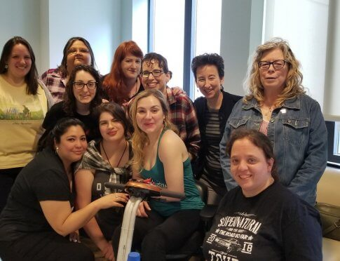 Rachel Miner and Friends of Random Acts during AMOK 2019