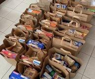Food packs in Puerto Rico