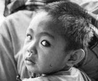 child in Laos