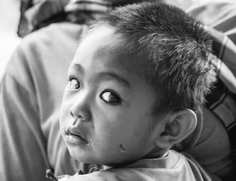 child in Laos