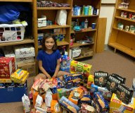 #RANoHungryChild food donation for Hi Liner Pantry