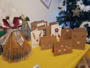Residents' crafts and cards