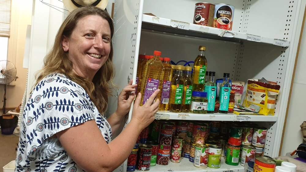 Asylum Seekers Centre free food store