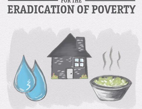 International Day for the Eradication of Poverty Graphic