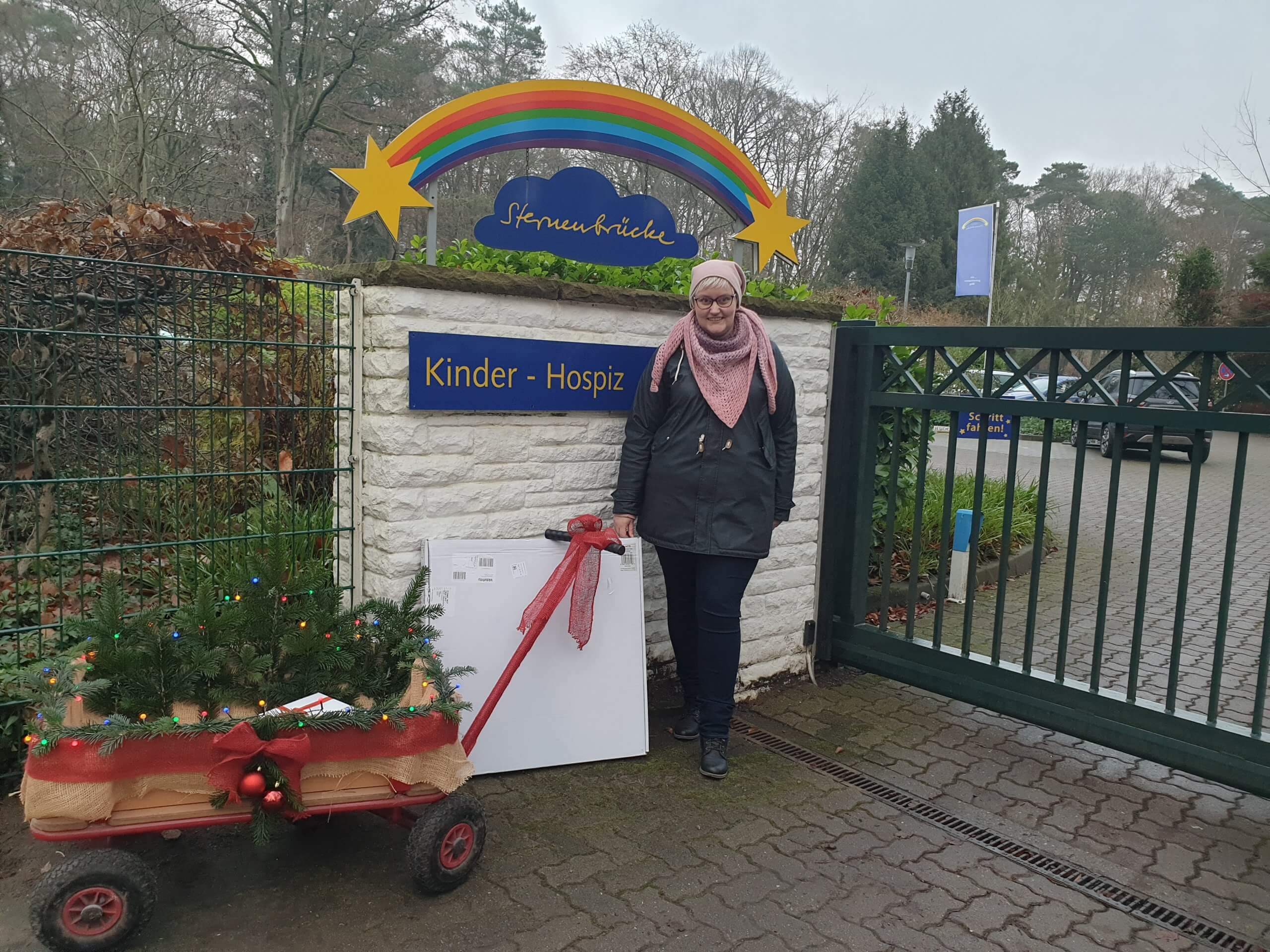 Bringing Holiday Cheer to a Children's Hospice