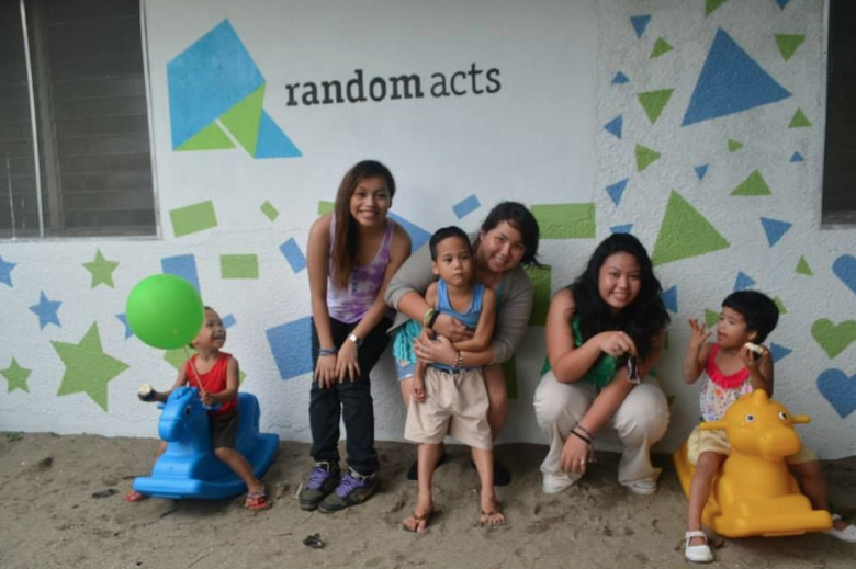 Random Acts mural
