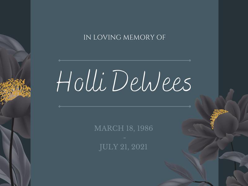 Holli in memory