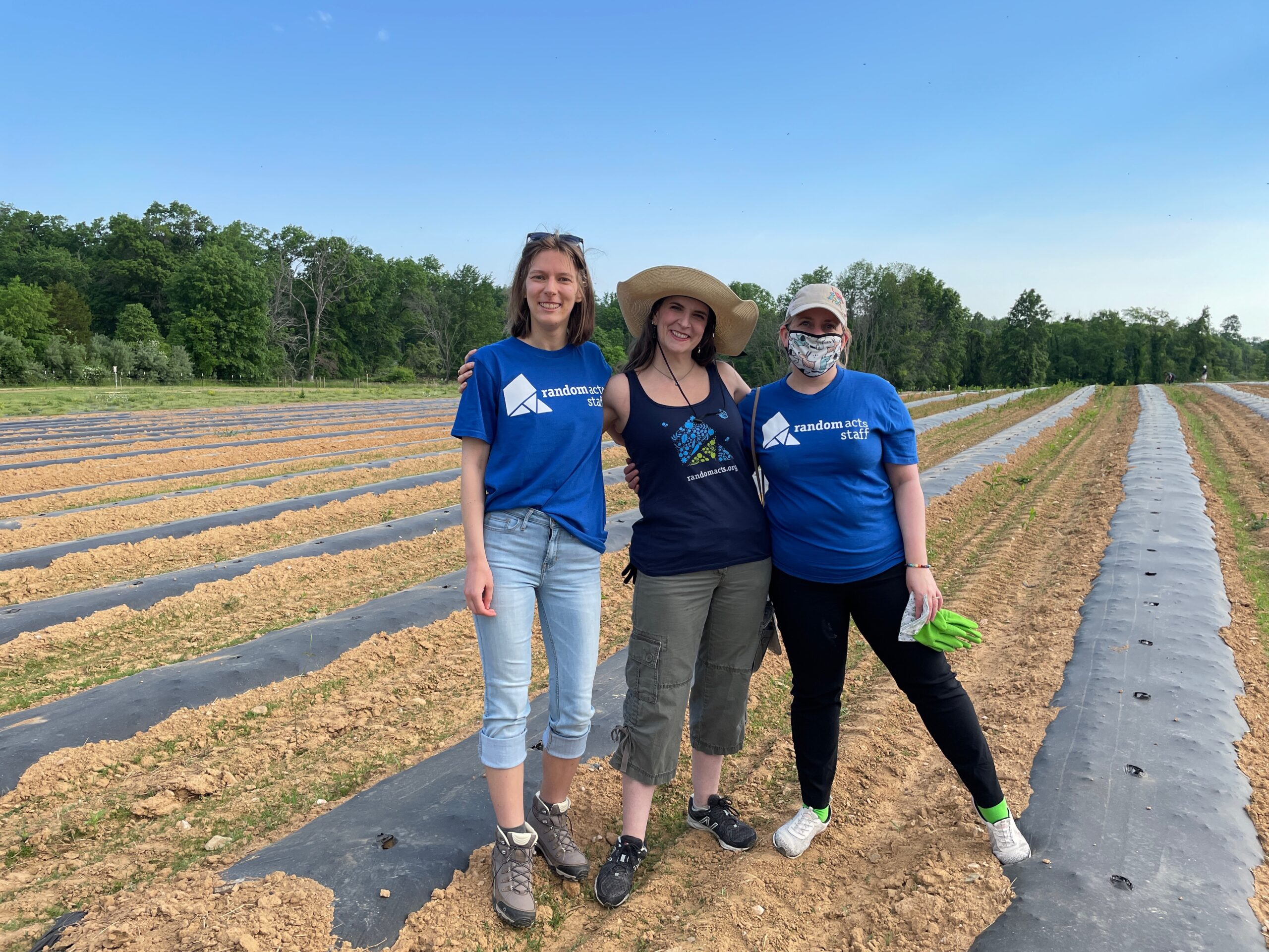 Random Acts Joins the Plant-A-Thon