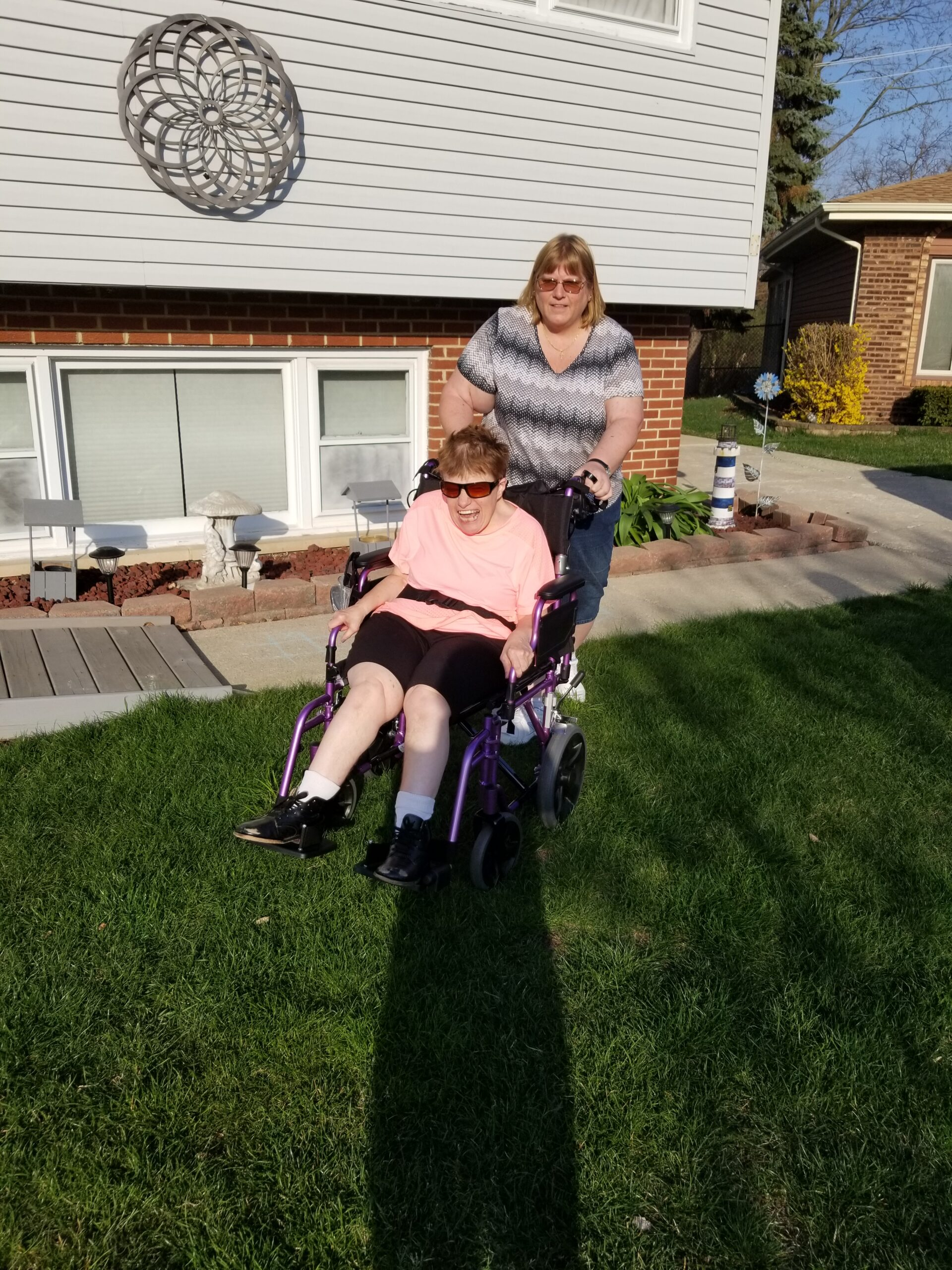 A New Wheelchair for New Adventures