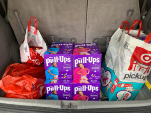 Diapers and baby supplies