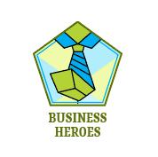 business hero badge